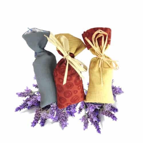 Fleurs de lavande séchées en sachet